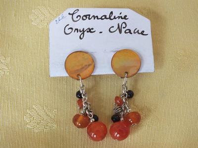 Cornaline, Onyx, Nacre | 22 €