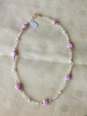 Rhodochrosite, cristal, perles   NC €