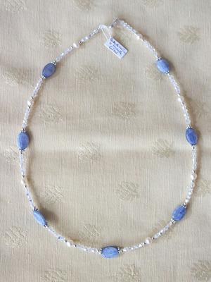 Perles, cyanite, cristal   NC €