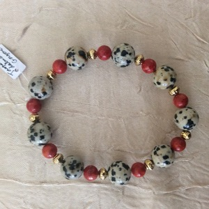 Jaspe dalmatien, gorgone  | 15 €