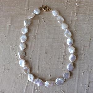 Perles de culture Fermoir plaqué or   75 €
